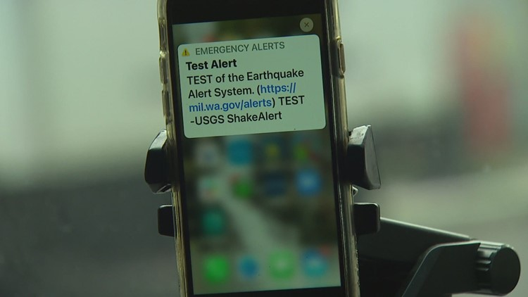 Earthquake early warning system launching in Washington state Tuesday