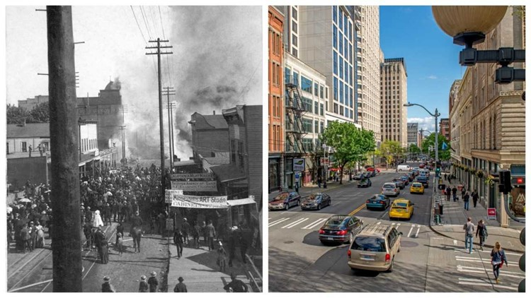 New book illustrates pictures of Seattle from when it first started, to Seattle now