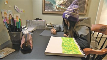 Cards for Cancer raises thousands of dollars for research thanks to 12 year old artist - 12 Under 12