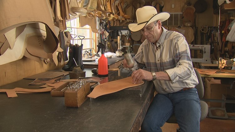 Olympia saddle maker keeps dying art alive