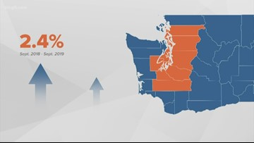 Wages in Puget Sound area aren't keeping up with the cost of living