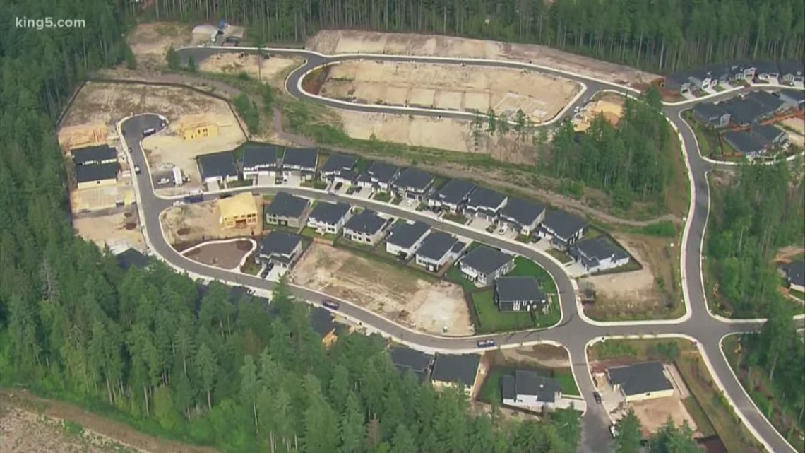 Port Orchard pauses home construction in some areas