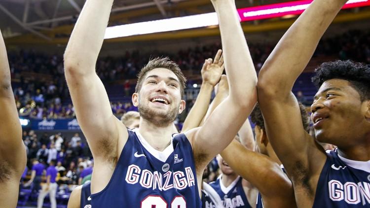 Gonzaga's Killian Tillie declares for NBA draft