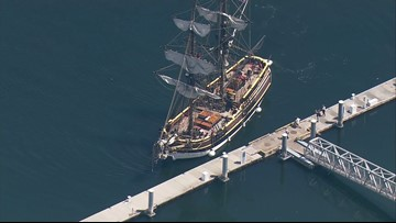 You can tour the Lady Washington tall ship in Tacoma this weekend