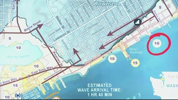 DNR chief on new tsunami evacuation maps