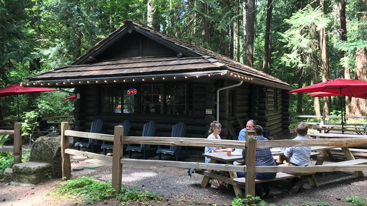 Lakeside Beer Garden at Millersylvania State Park