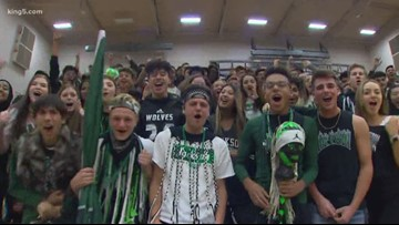 Friday pep rally: Jackson High School in Mill Creek