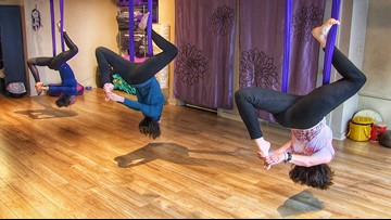 Why people are flipping for antigravity yoga