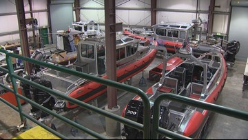 Unsinkable boats built in Bremerton