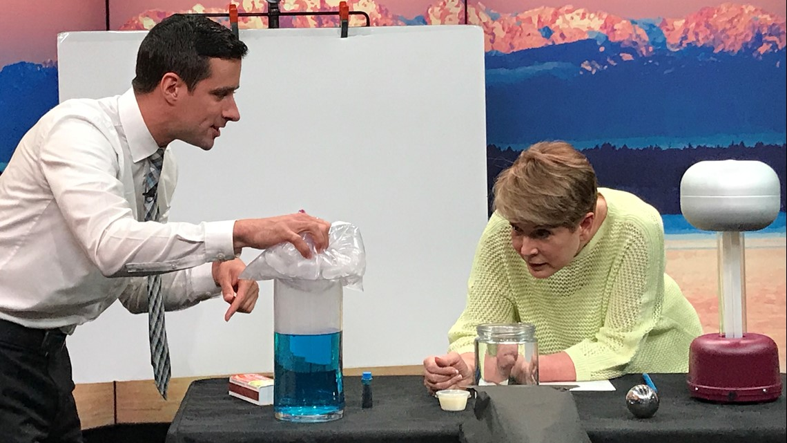 These DIY experiments explain the science behind PNW clouds, lightning, and smokey sunsets - New Day NW