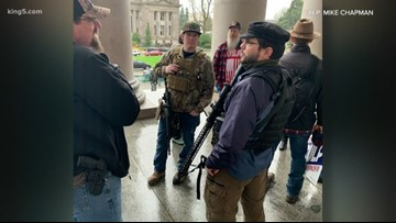 Gun rights rally sparks open carry debate on state Capitol grounds