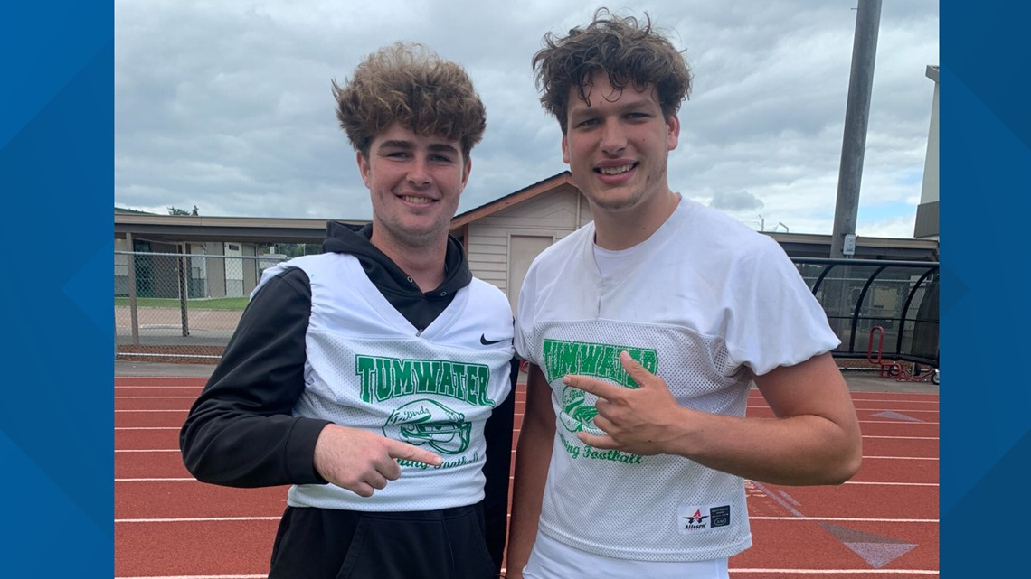 Prep Zone: Tumwater's top tight ends Ryan Otton and Austin Terry