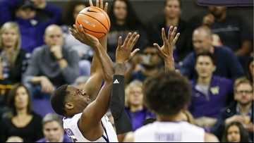 Dickerson, Nowell help Washington beat UCSB 67-63