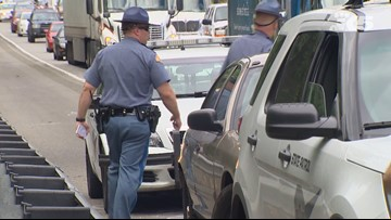 Statewide 'slow down, move over' emphasis patrols this weekend