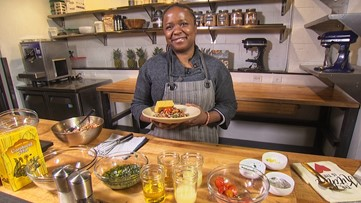 Turning a southern staple into a healthy salad - Makini's Kitchen