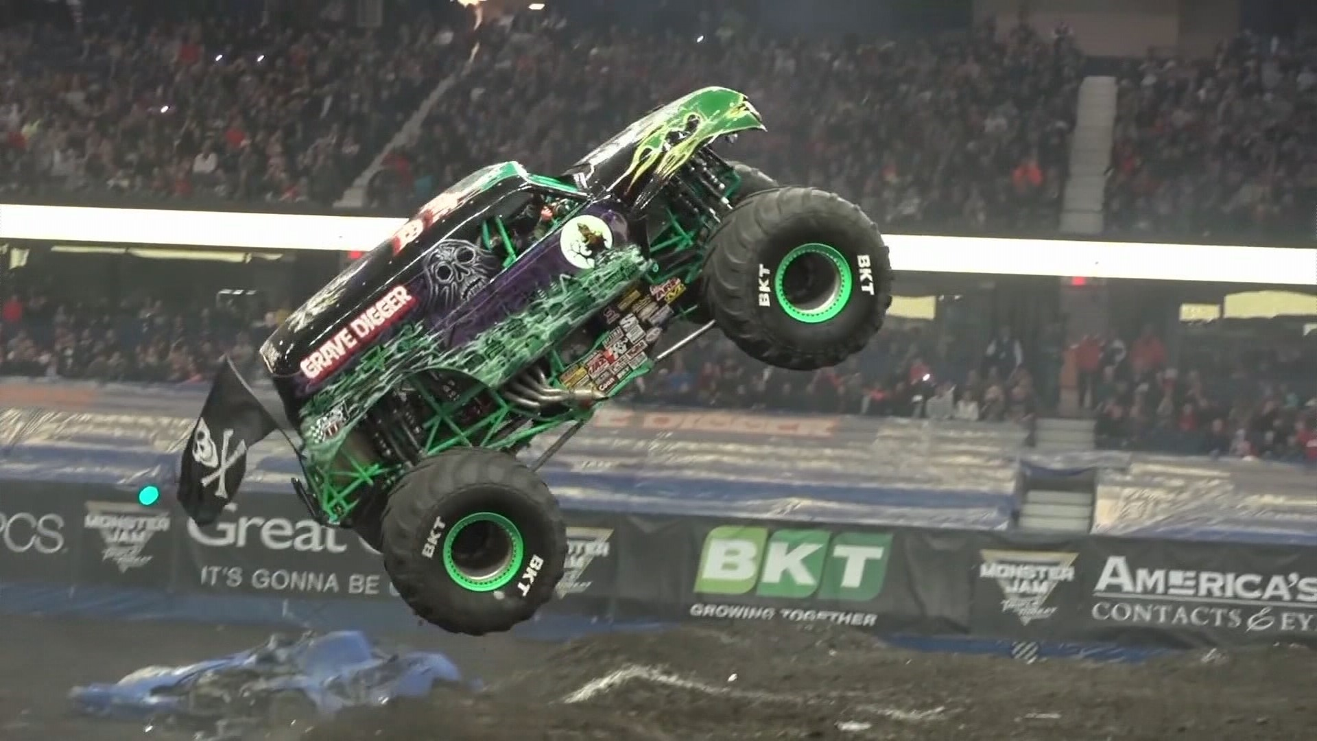Monster Trucks Gather In Tacoma This Weekend For High Octane Fun King5 Com