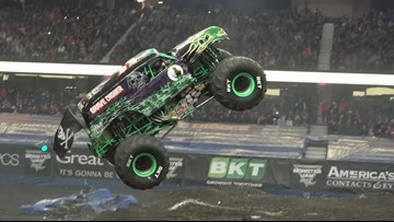 Monster trucks gather in Tacoma this weekend for high-octane fun