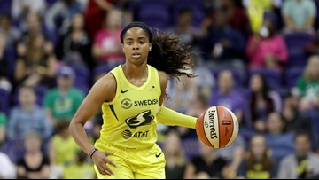 Canada scores career-high 21 as Storm beat Dream 92-75