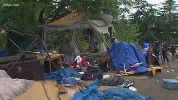 Washington's homeless population drops from 2018