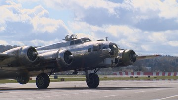You can fly on a WWII B-17 this weekend