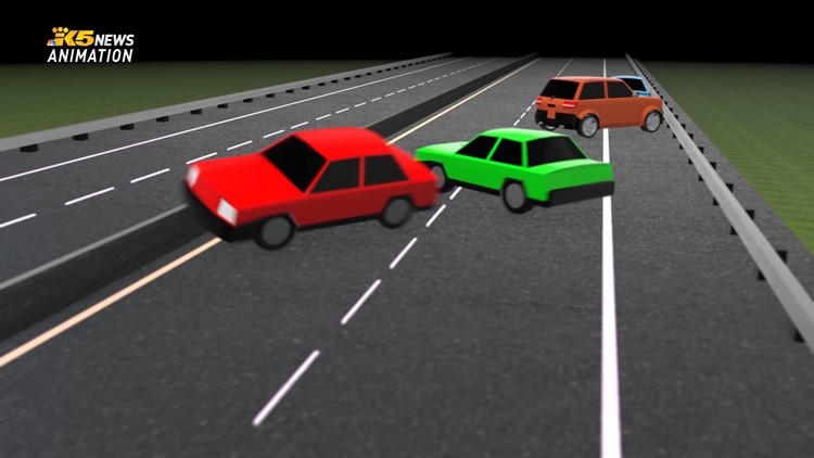 Animation shows 'horrific' wrong-way crash that killed 2