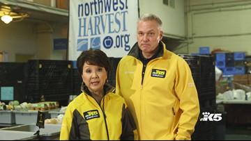 Northwest Harvest and Safeway food drive