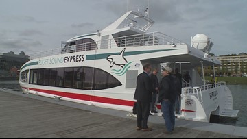 Proposed Renton-Seattle water taxi goes on test ride