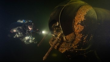 Discover history with 3D-models of Washington's underwater discoveries