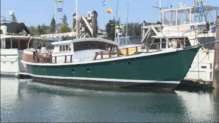 The San Juan Island bed and breakfast that also happens to be a boat