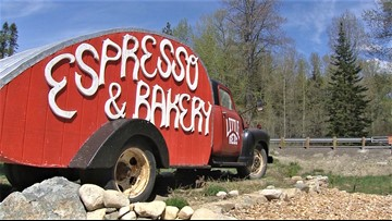 Little Red's Espresso and Bakery on Highway 2 is a bright spot in the road