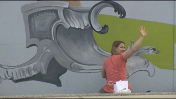 Leavenworth mural artists paint the town for generations
