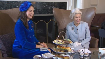 Tea time with royal impersonators in Victoria, BC