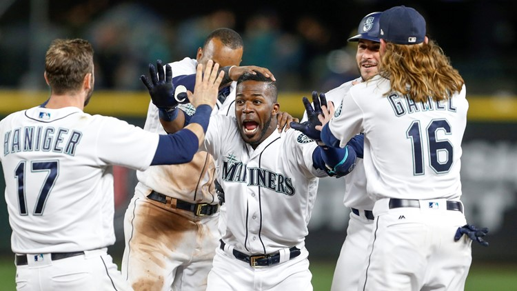 It was Seattle's 10th come-from-behind victory this season, which is tied with Houston for fourth-most in the American League behind Boston (14), Toronto (13) and New York (11).