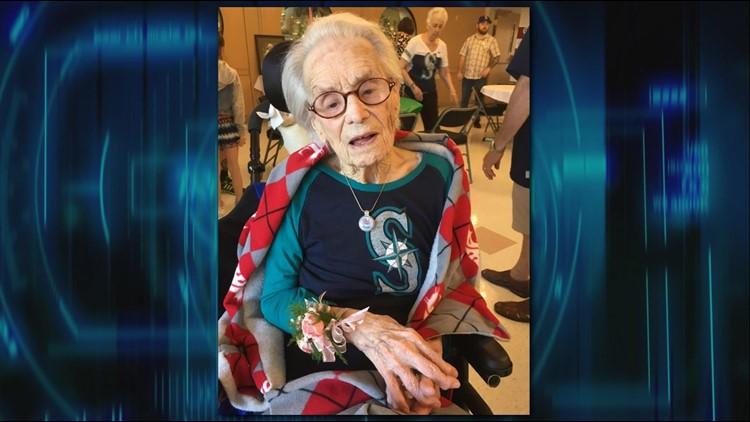 """Gertrude """"Ella"""" Ellison turns 110 years young on Wednesday!"""