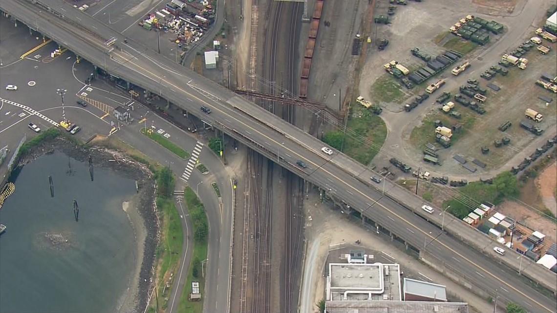 Seattle May Not Replace Aging Magnolia Bridge King5 Com
