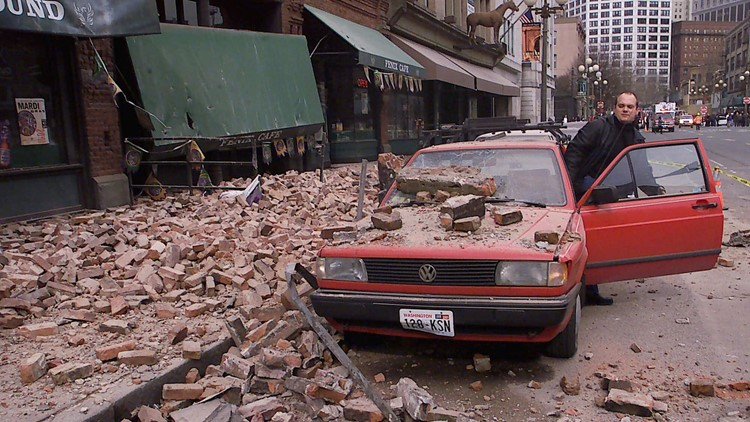 Remembering the 6.8 Nisqually earthquake that shook Washington 20 years ago