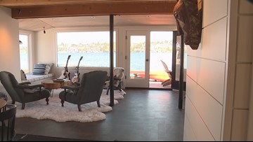 Exclusive look inside the remodeled 'Sleepless in Seattle' houseboat