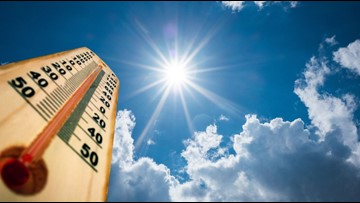 Western Washington could hit 90 degrees again Monday
