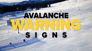 Avalanche Warning Signs