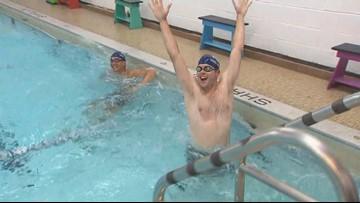 Gold medal Olympians teaching kids to swim in Bellingham