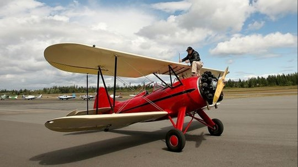 Scenic biplane tours now available in Bremerton | king5 com
