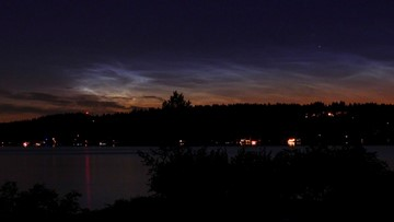 Look out for noctilucent clouds this summer