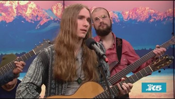 Winner of The Voice Sawyer Fredericks promotes his new album 'Hide Your Ghost' - New Day Northwest