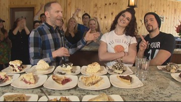 OPEN your pie-hole for a colossal contest of consumption in Ballard - KING 5 Evening