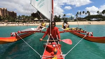 Catamarans, paddleboard yoga, and spas: Aulani has activities for all