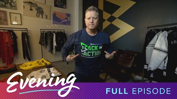 Wed 1/8, Beast Mode Seattle Store in Downtown Seattle, Full Episode, KING 5 Evening