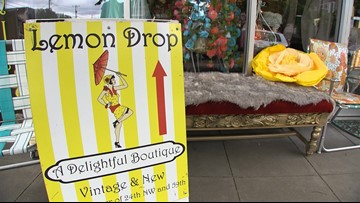 Ballard's tiny vintage shop with a big personality - Thrifting Thursday