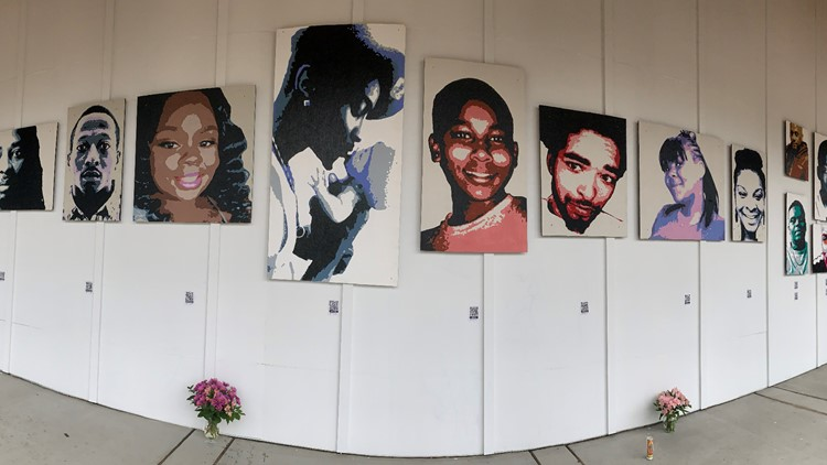 Vashon remembers the faces of racial injustice