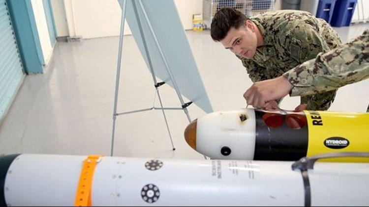 Keyport's Naval Undersea Warfare Center is developing new technology for the U.S. Navy.