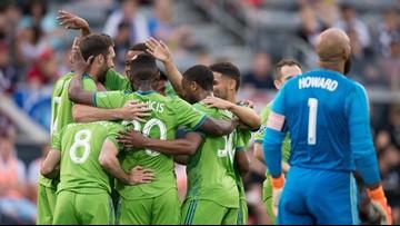 Bruin leads Seattle Sounders past Colorado Rapids 2-1